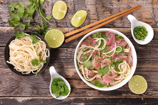 Beef Pho with Flank Steak