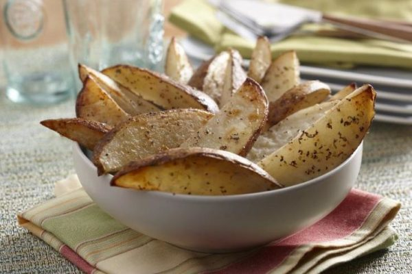 Herb Baked Potato Wedges